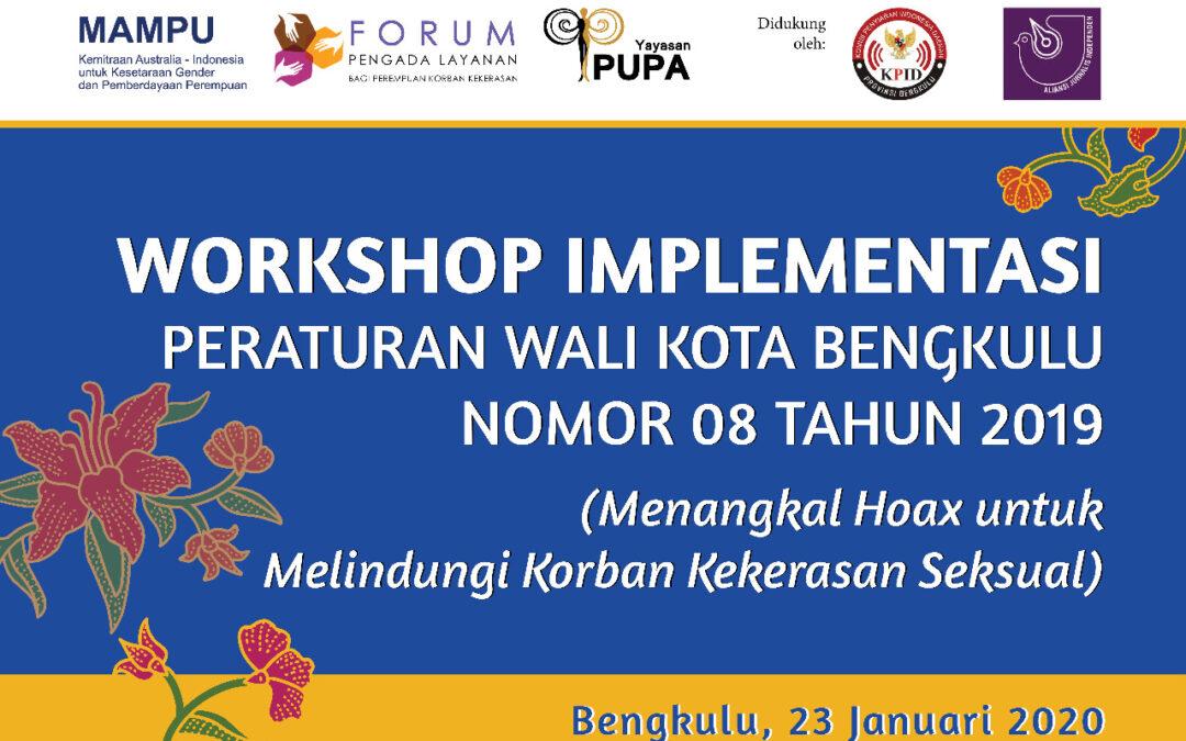 Workshop Menangkal Hoax untuk Melindungi Korban Kekerasan Seksual